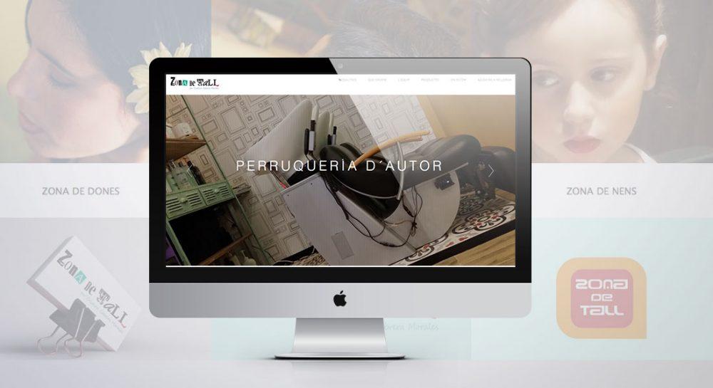 Diseño web para peluquerías