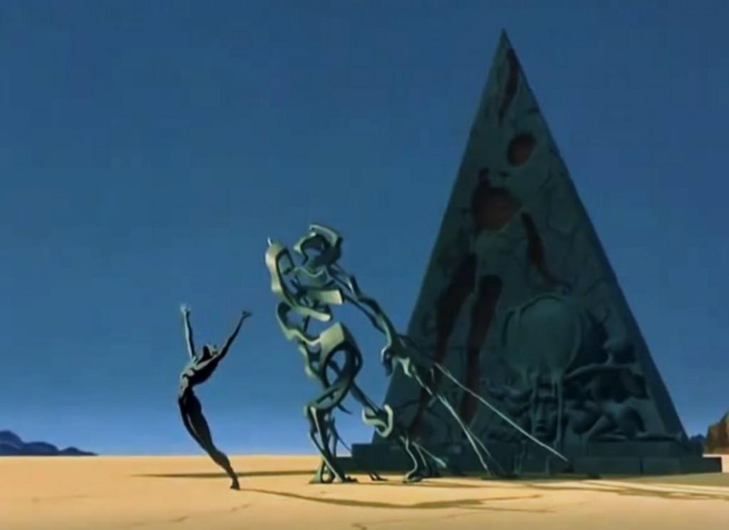 Walt Disney y Salvador Dalí