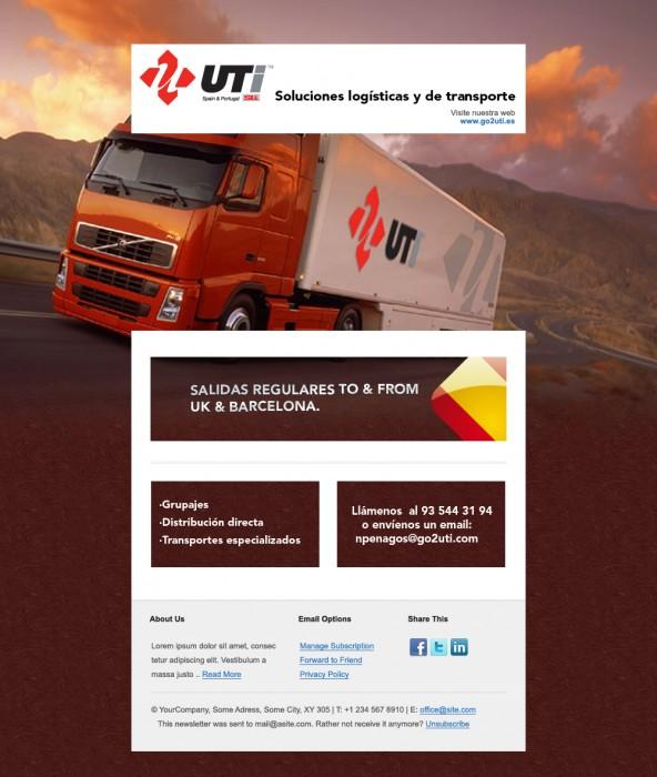 Diseño del newsletter
