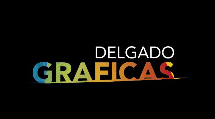 Diseño de logotipos Gráficas Delgado Barcelona