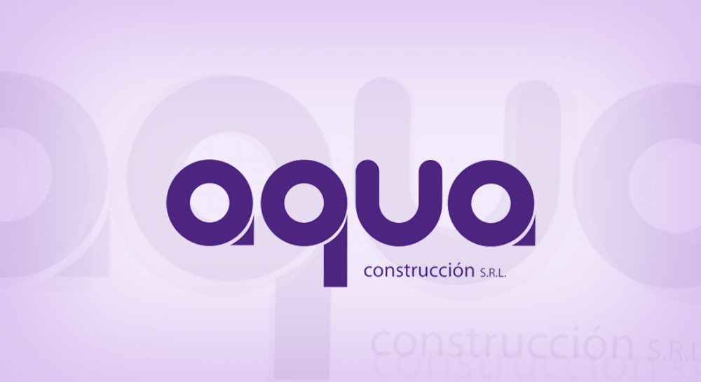 Diseño de logotipos Aqua S.R.L