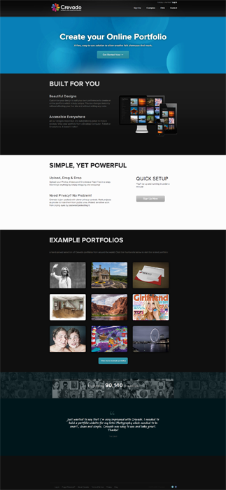 Portfolios online gratis