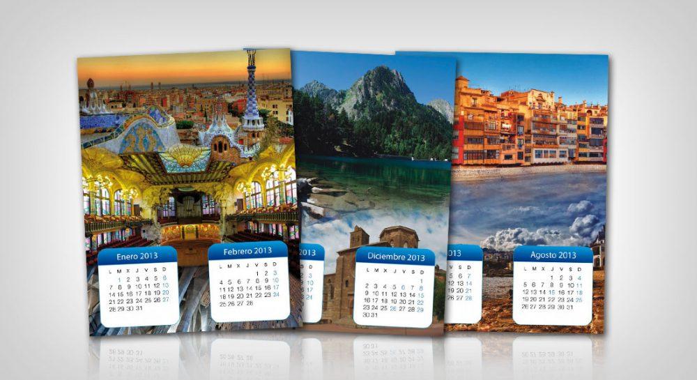 Diseño del Calendario para el Eix comercial de la Sagrada Família