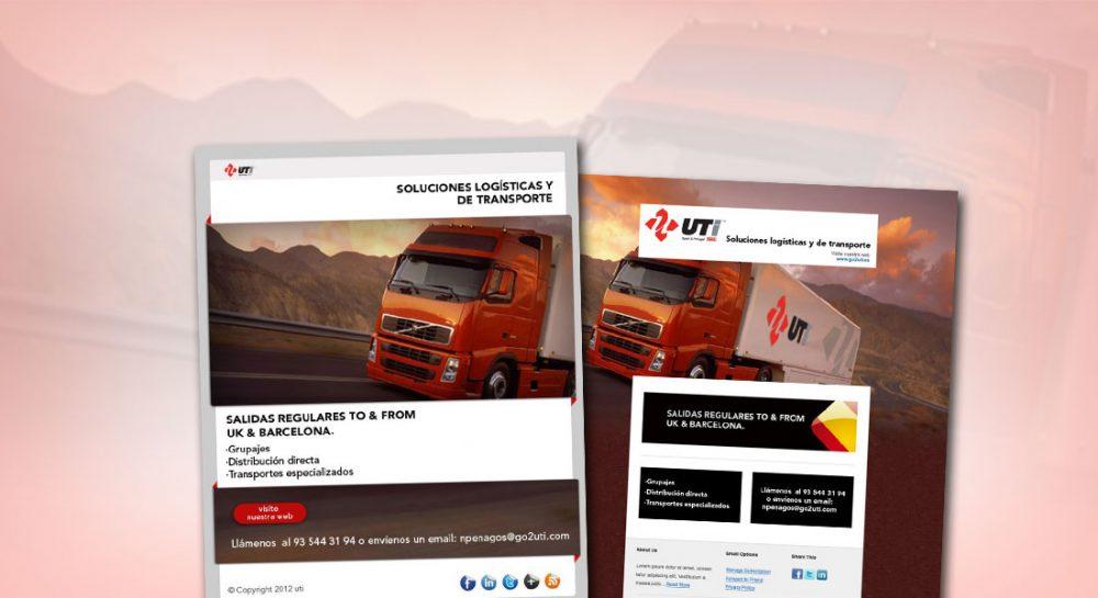Diseño del newsletter para Go2uti