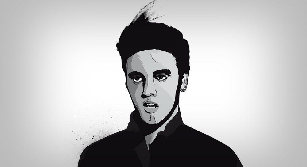 Ilustración de Elvis Presley