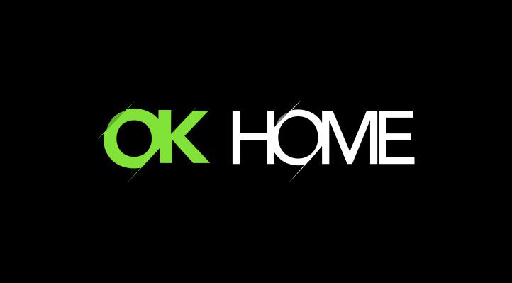 Diseño de logotipo OK - HOME