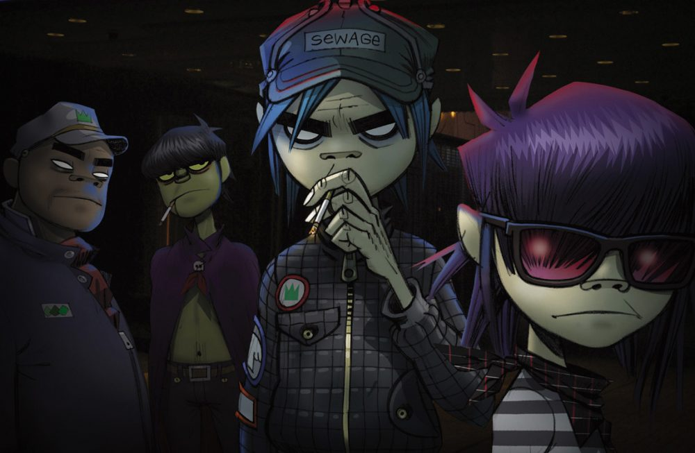 Video Art – Gorillaz y sus videoclips