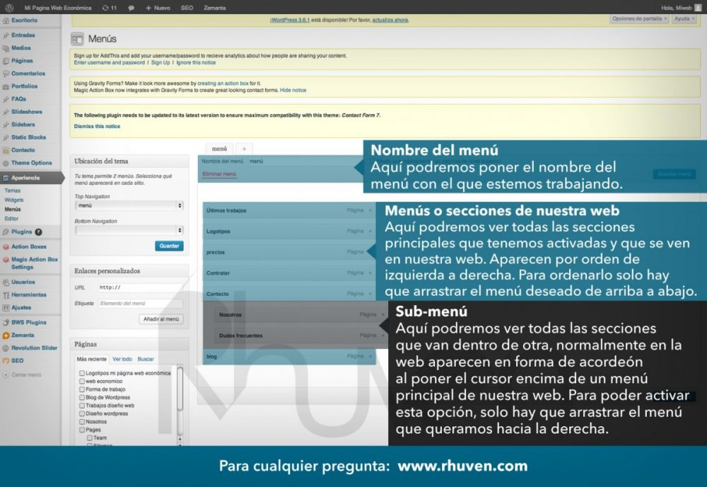 tutorial wordpress en español