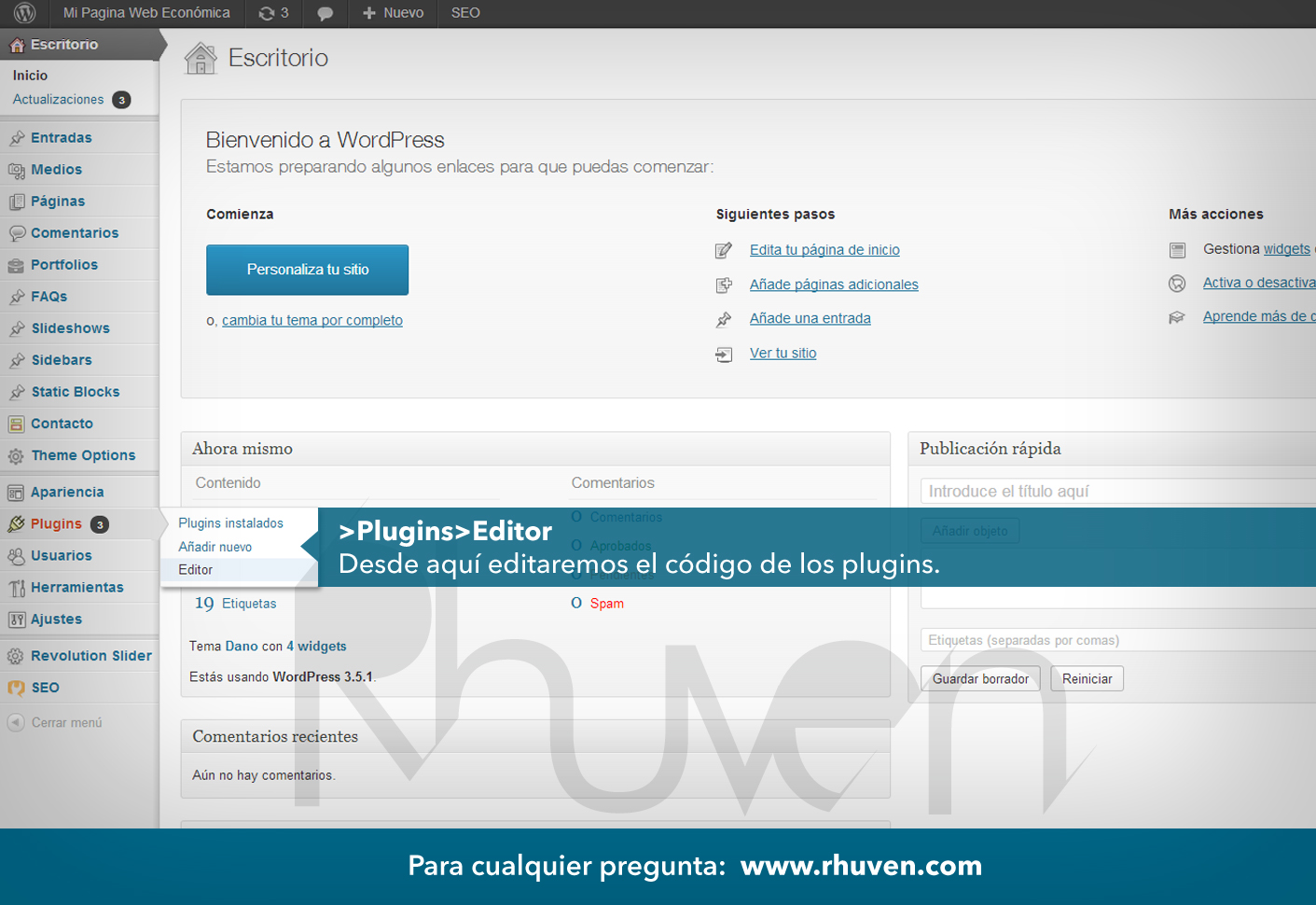 tutorial de wordpress