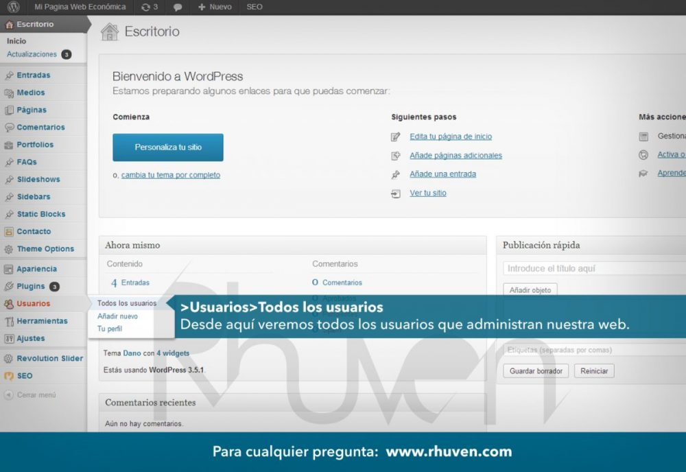 Wordpress tutorial 6 de 8