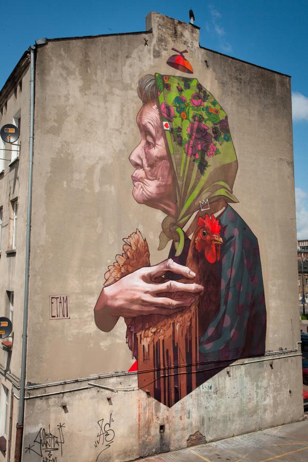 el arte urbano