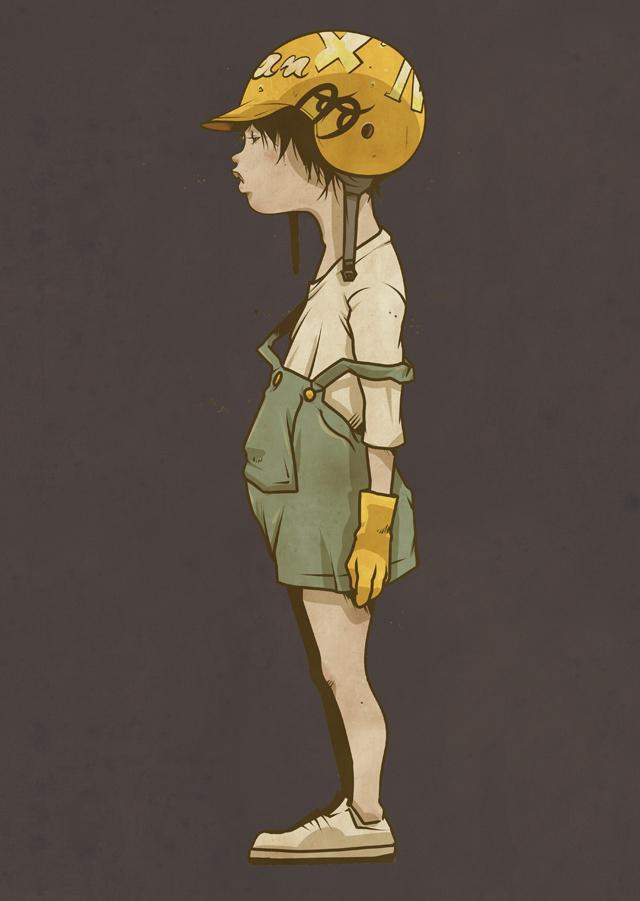 Las ilustraciones de Masaki Yokobe