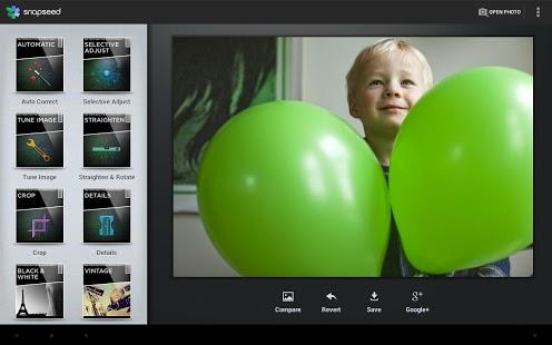 aplicación retoque fotografico