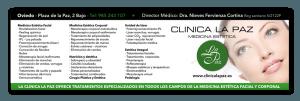 Diseño de publicidad para Clínica La Paz Oviedo