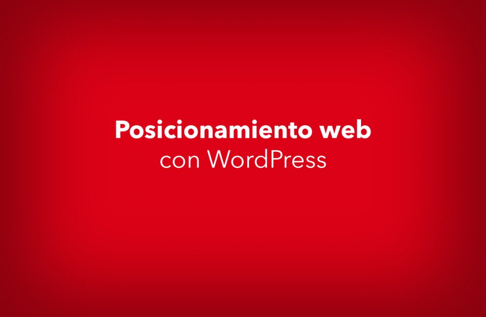 Posicionamiento web con Wordpress