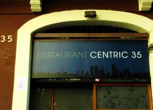 Diseño del rótulo Restaurant