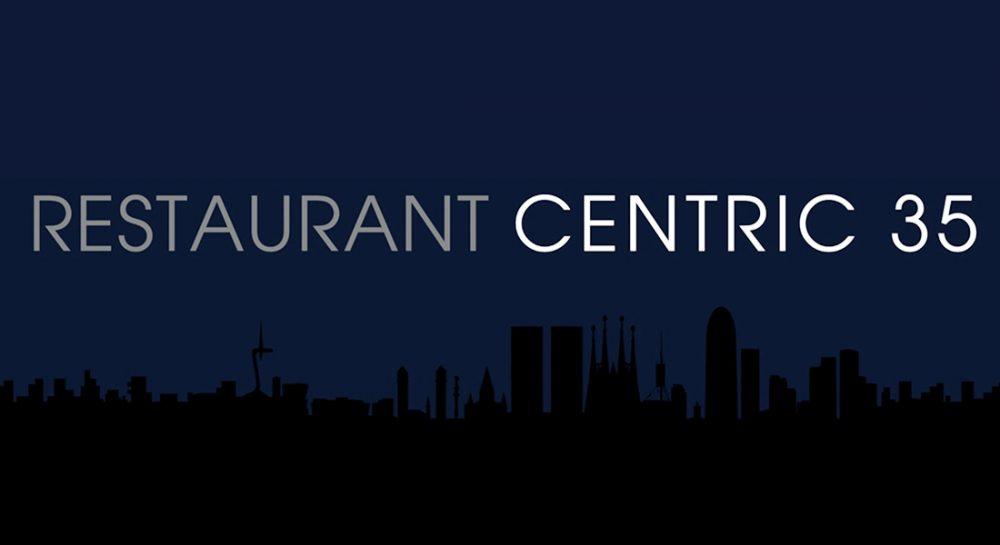Diseño del rótulo Restaurant Centric 35 Barcelona