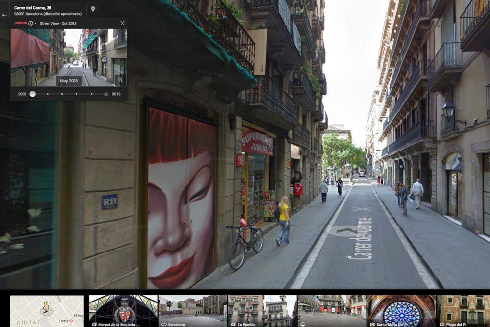 Street View – La cápsula del tiempo de Google