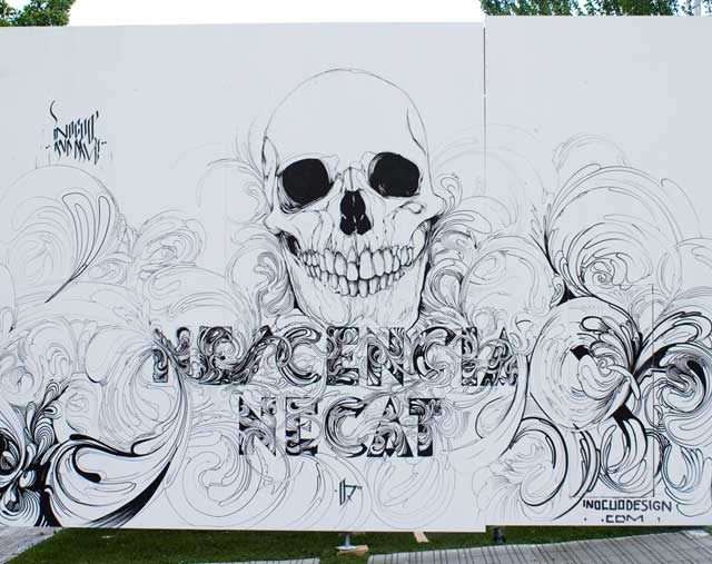 mural calavera