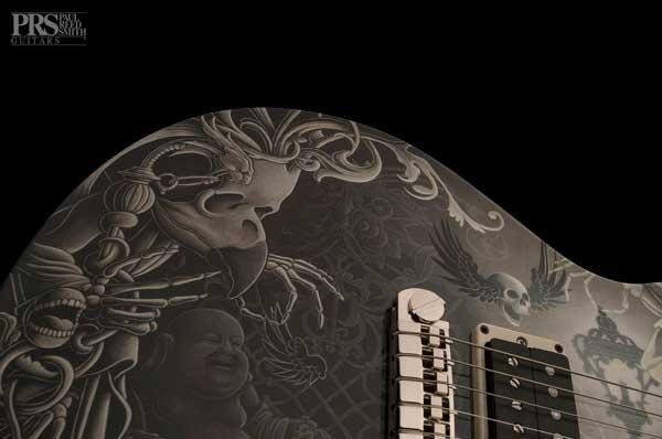 guitarra pintada