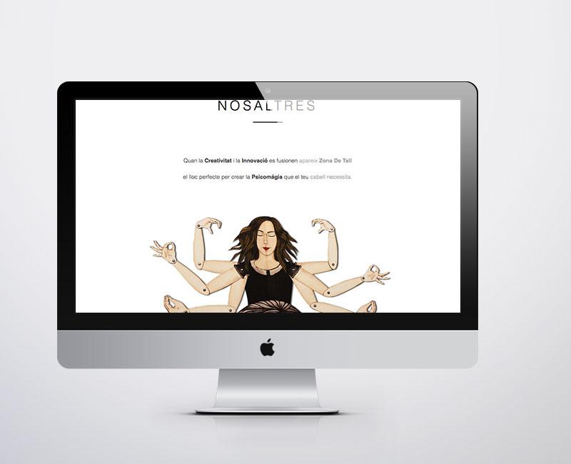 Diseño web para Zona de Tall