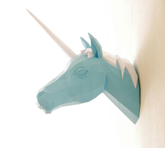 Esculturas de papel para casa
