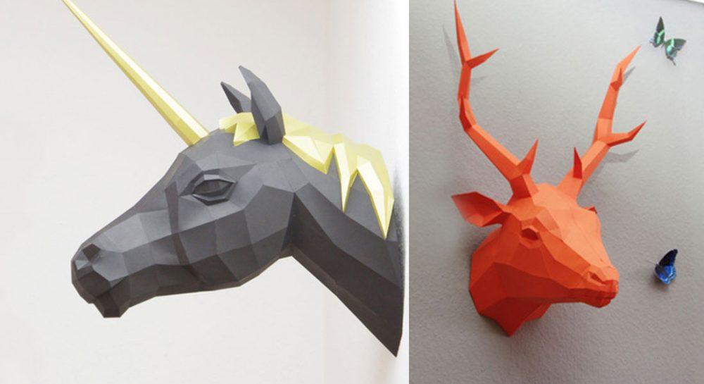 Esculturas de papel para decorar – Blog de diseño
