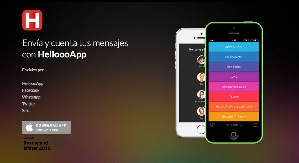 HelloooApp – Envía y cuenta tus mensajes.
