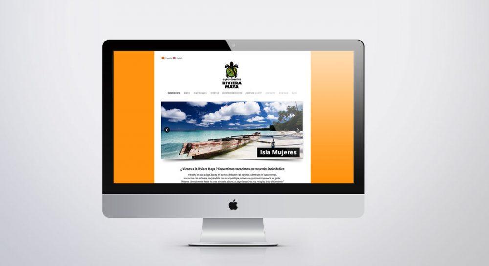 Disseny pàgines web Barcelona – Projecte Experiències Riviera Maya