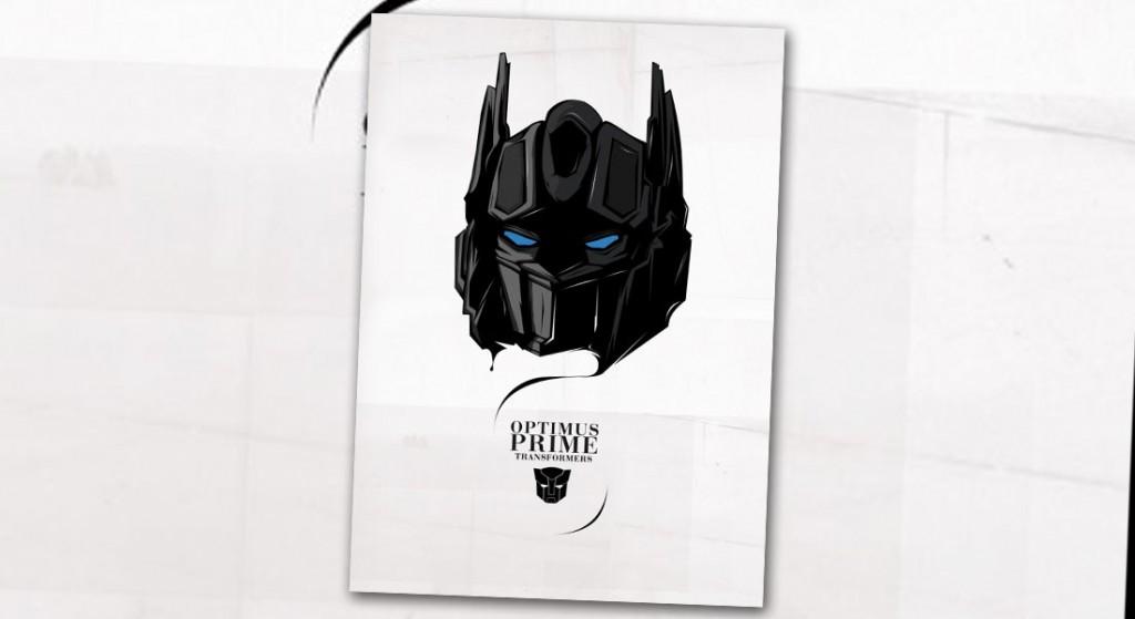 Ilustración Optimus Prime