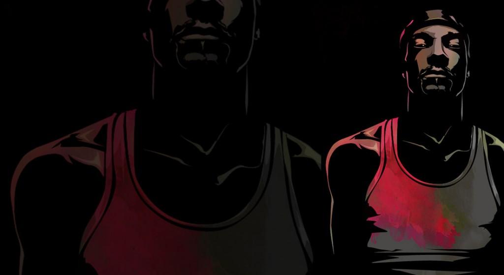 Ilustración vectorial de Snoop Dogg