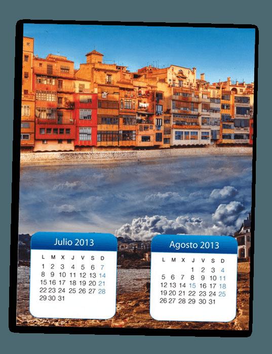 Dise o del calendario para el eix comercial de la sagrada - Disenos de calendarios ...