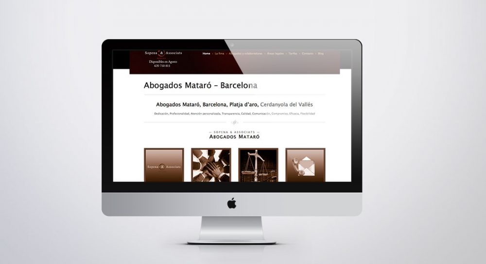 diseño de páginas web barcelona