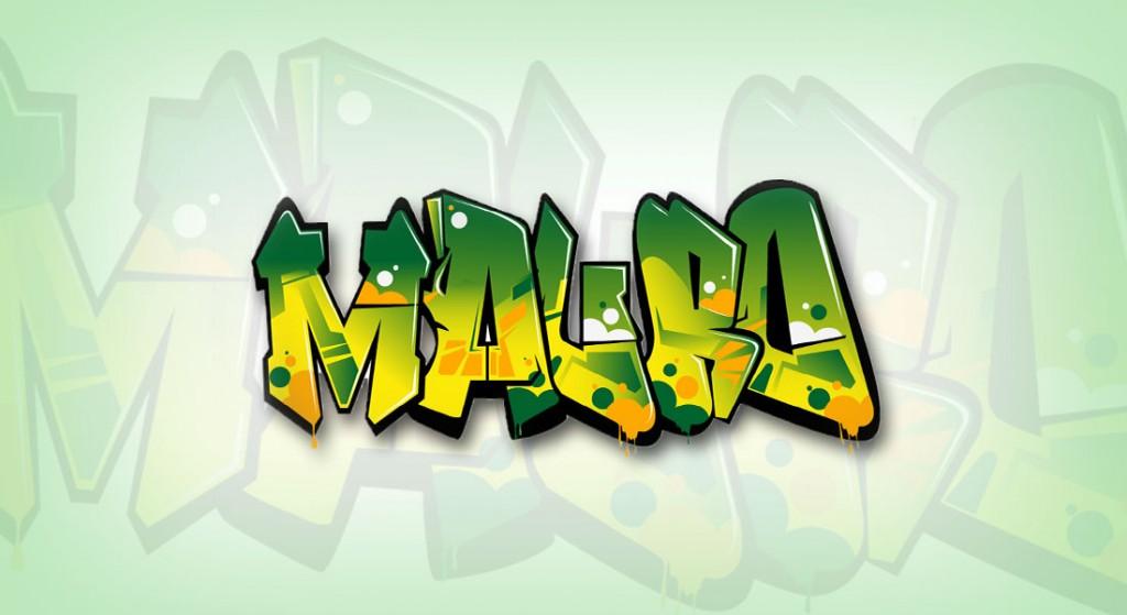 Vinilo Graffiti vectorial