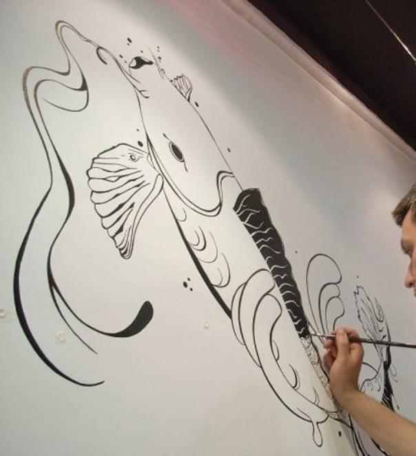 Ilustracion mural