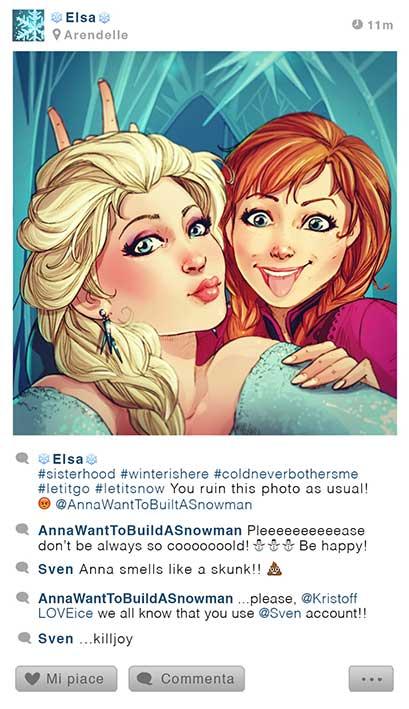 Selfies Walt Disney