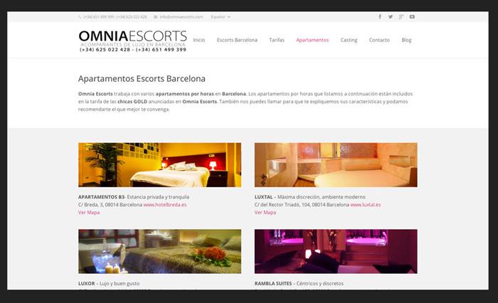 Diseño web escorts
