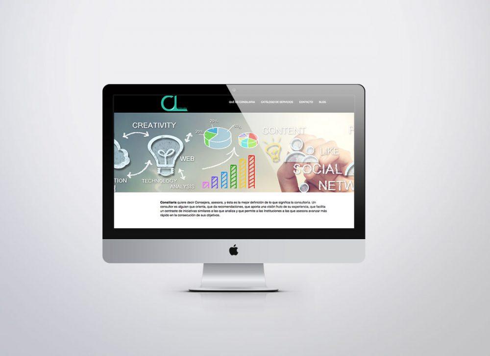 Desarrollo web para Consiliaria