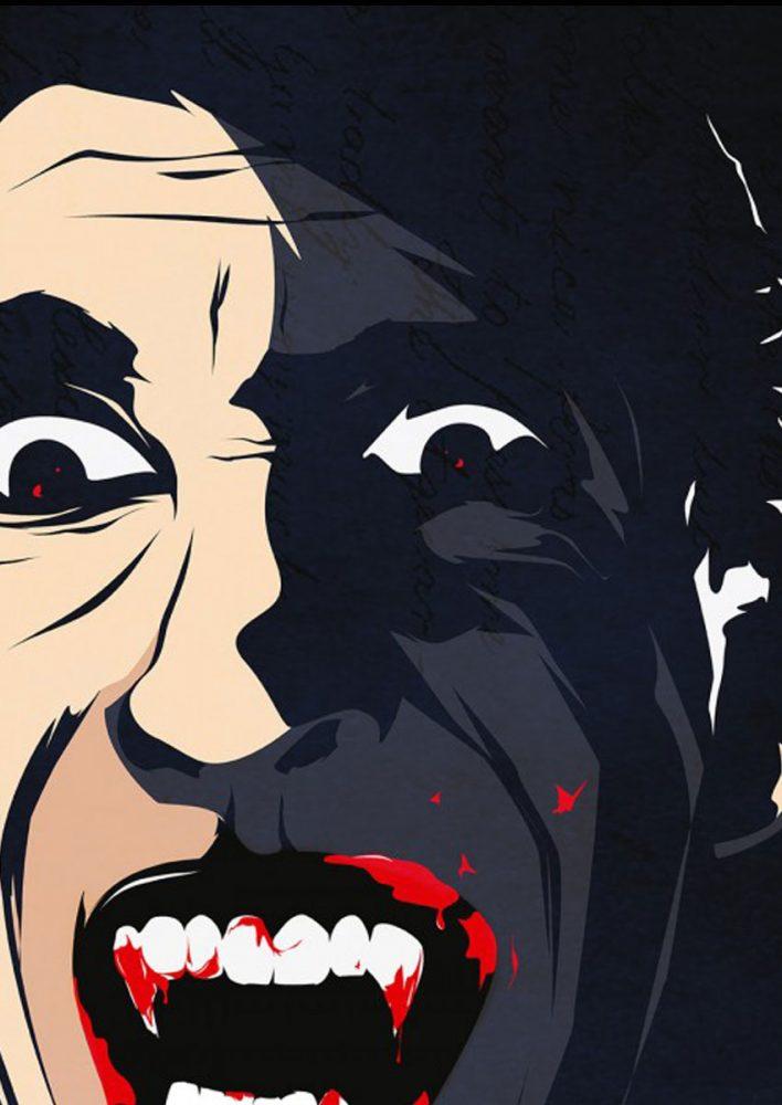 Ilustración El Conde Drácula