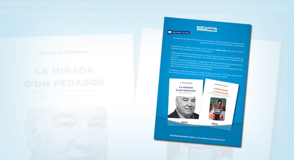 Diseño de anuncios para Sapere Aude de Barcanova