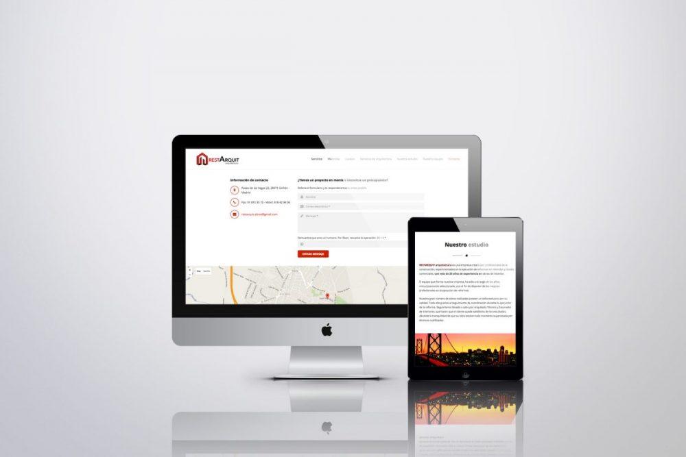 Diseño web en Madrid -