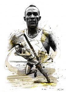 ilustración deportiva