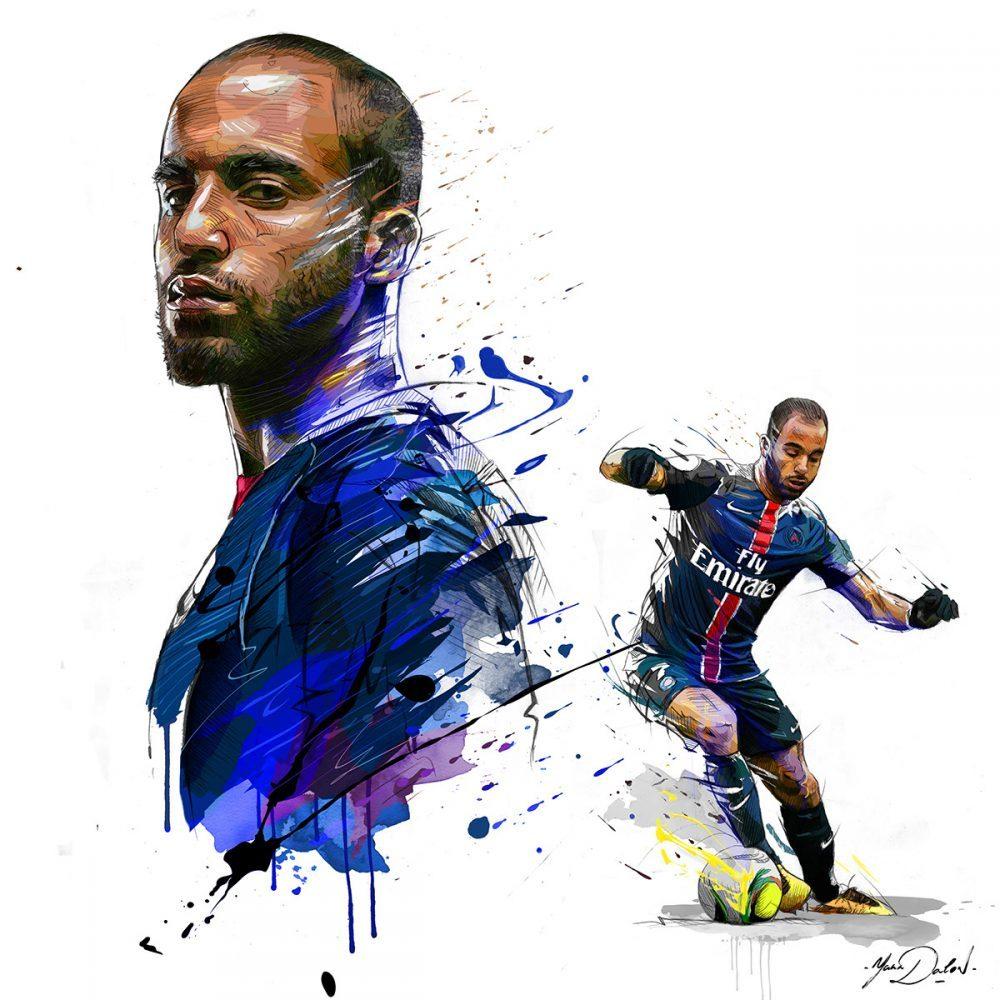 Lucas Moura Foot: Retratos Deportivos Por Yann Dalon
