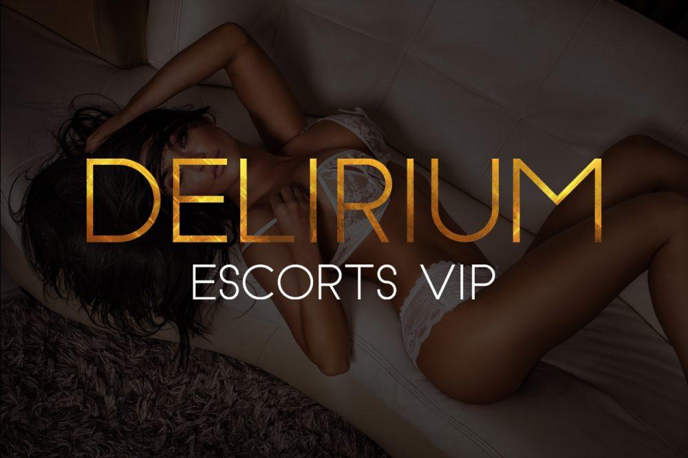 Diseño de logotipo para Delirium Escorts Vip Madrid