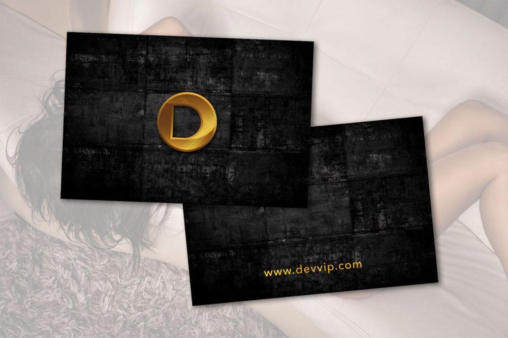 Dise o de tarjetas de presentaci n para delirium vip for Disenos para tarjetas