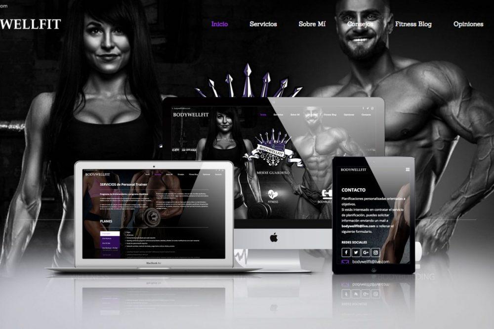 Diseño web con Wordpress para BodyWellFit de Córdoba