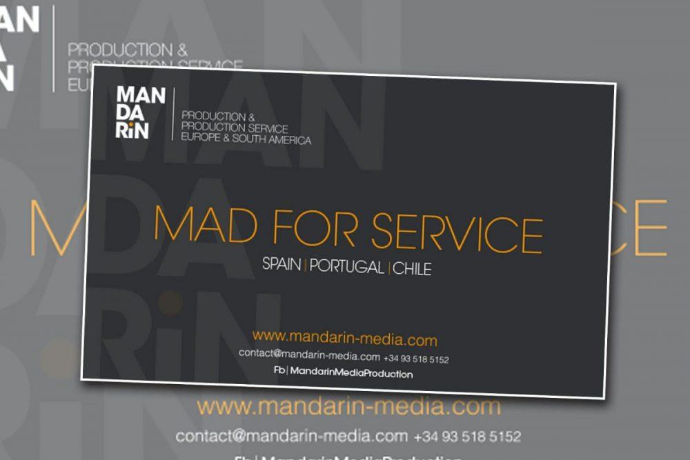 Diseño de Banner y de anuncio, para Mandarin.