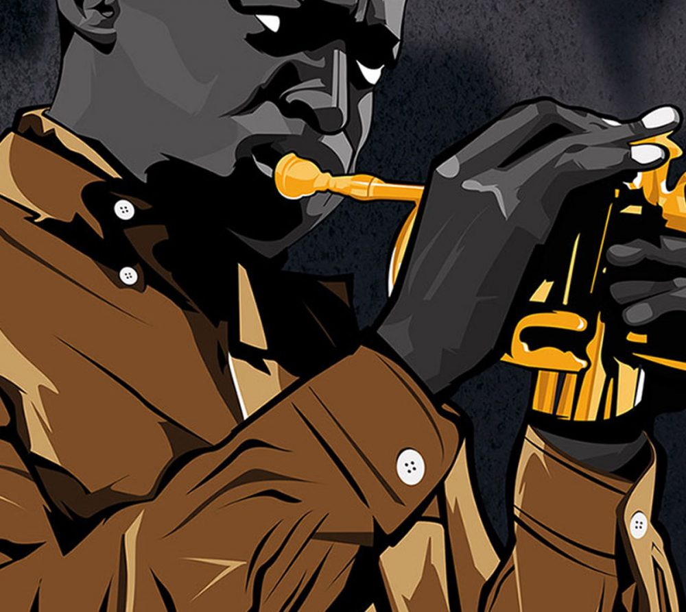 Ilustración Jazzman