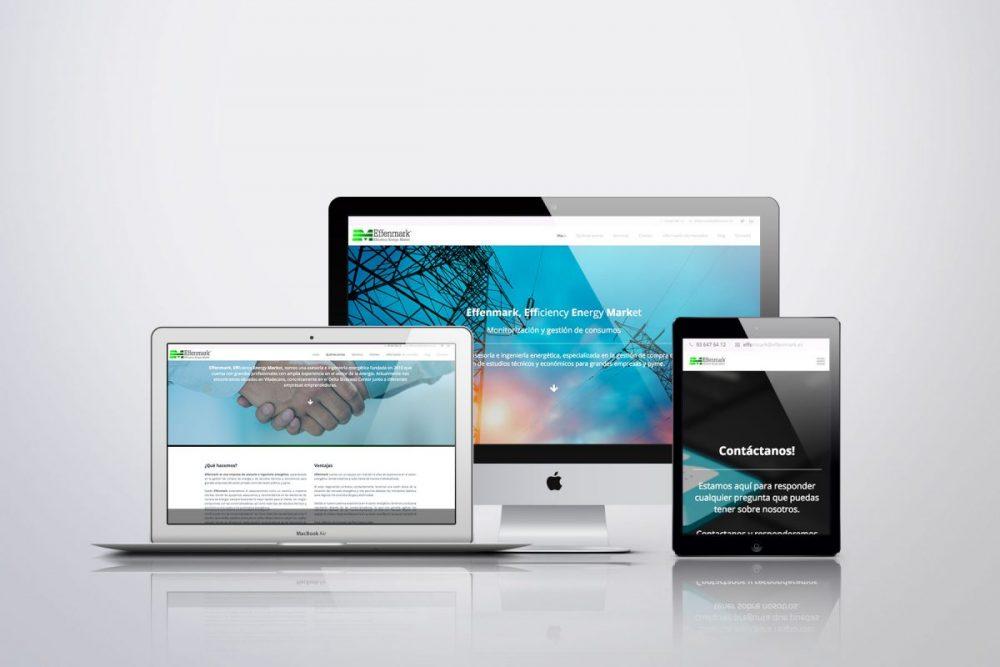 Diseño Web WordPress en Viladecans. Proyecto Effenmark