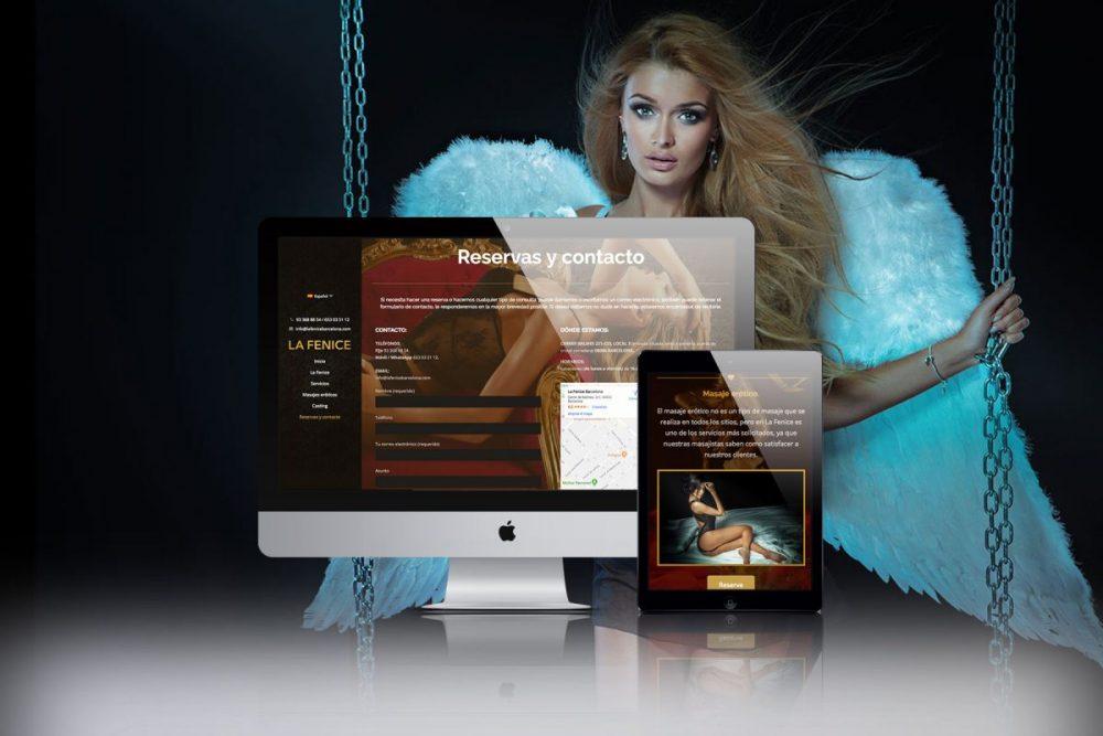 Diseño web para La Fenice Barcelona